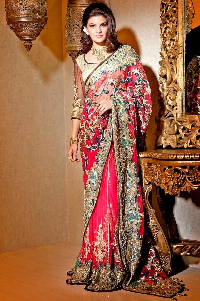 Bridal-Wedding-Formal-Casual-Party-Wear-Sarees-Dress-New-Fashion-Sari-for-Brides-by-Designer-Satya-Paul-