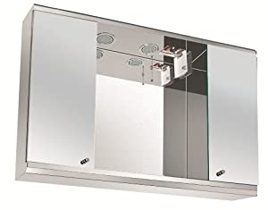 mirrored bathroom cabinets with shaver point illuminated bathroom mirror cabinet with shaver socket 23391