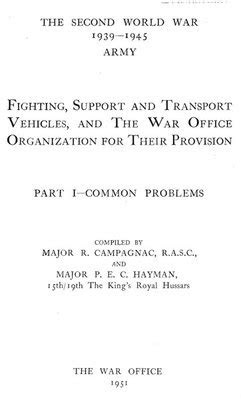 Fighting, Support and Transport Vehicles :: Military