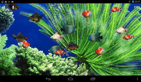 aquarium screensaver  android