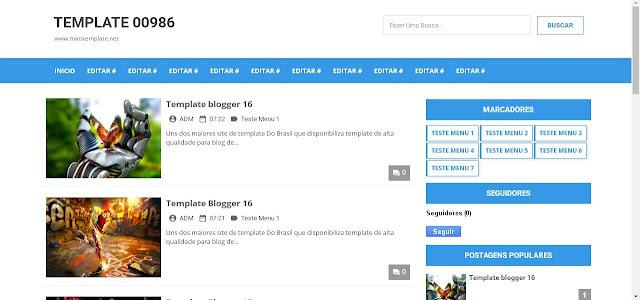 Blogger Templates 2016 / 2017 Premium Blogspot Gratis