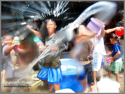 The pop Songkran festival is 1 of those  BangkokMap: Songkran Festival Apr 13th inwards <a href=