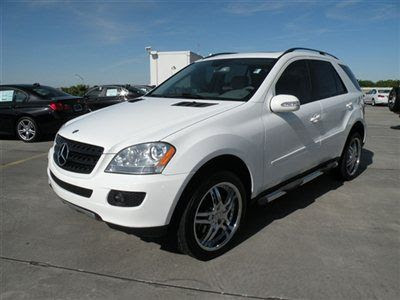 Buy used 2006 Mercedes-Benz ML350 AWD SUV White CLEAN good ...