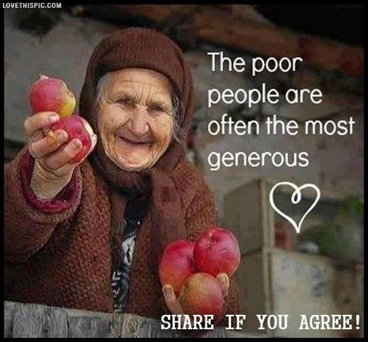 Poor People Are The Most Generous Pictures Photos And Images For