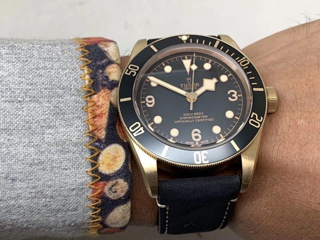 Tudor Black Bay Wrist Shot 1