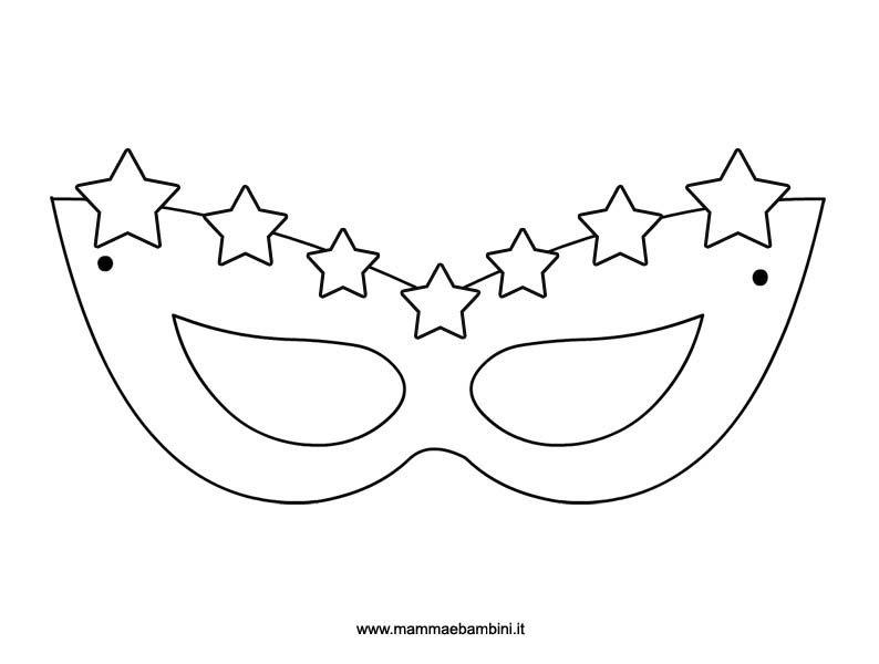 Nuovo Maschere Di Carnevale Disegni Da Colorare Migliori Pagine Da