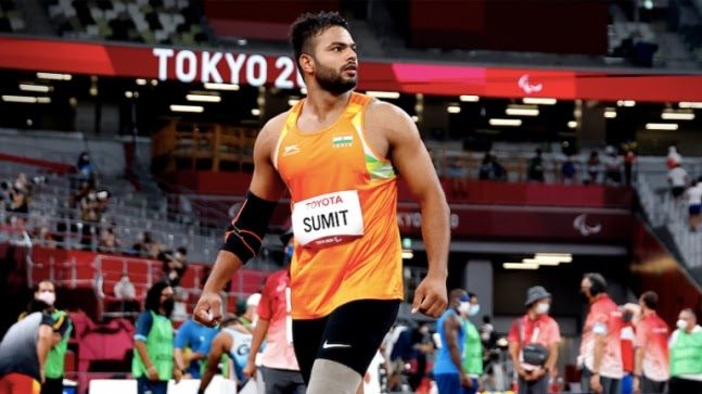 Sumit Antil on Tokyo Paralympics gold: It was not my best throw but very happy to break world record https://ift.tt/3t1pXCh