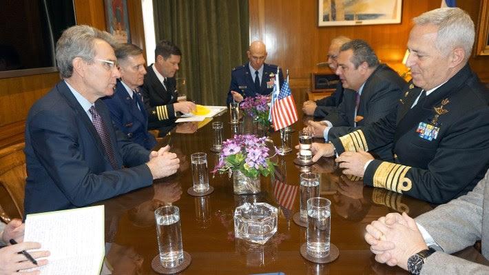 Αποτέλεσμα εικόνας για τσιπρας και αμερικανός πρέσβης