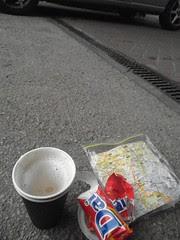 gas station breakfast
