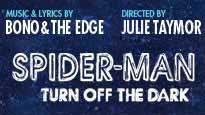 SPIDER-MAN Turn Off The Dark pre-sale password for concert tickets