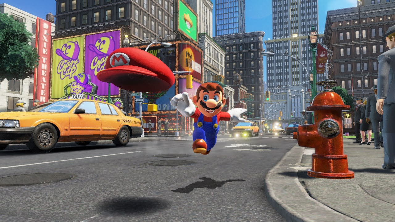 Rumor: Super Mario Odyssey arriving in November as Nintendo increases Switch production screenshot