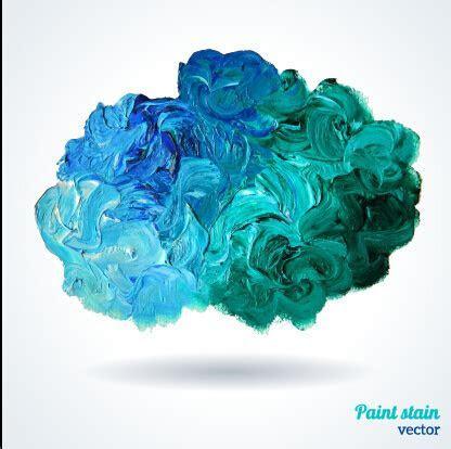 Paint splatter background free vector download (47,350