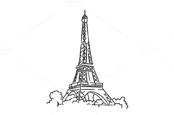 Background Ppt Menara Eiffel Paris Animasi Designtube