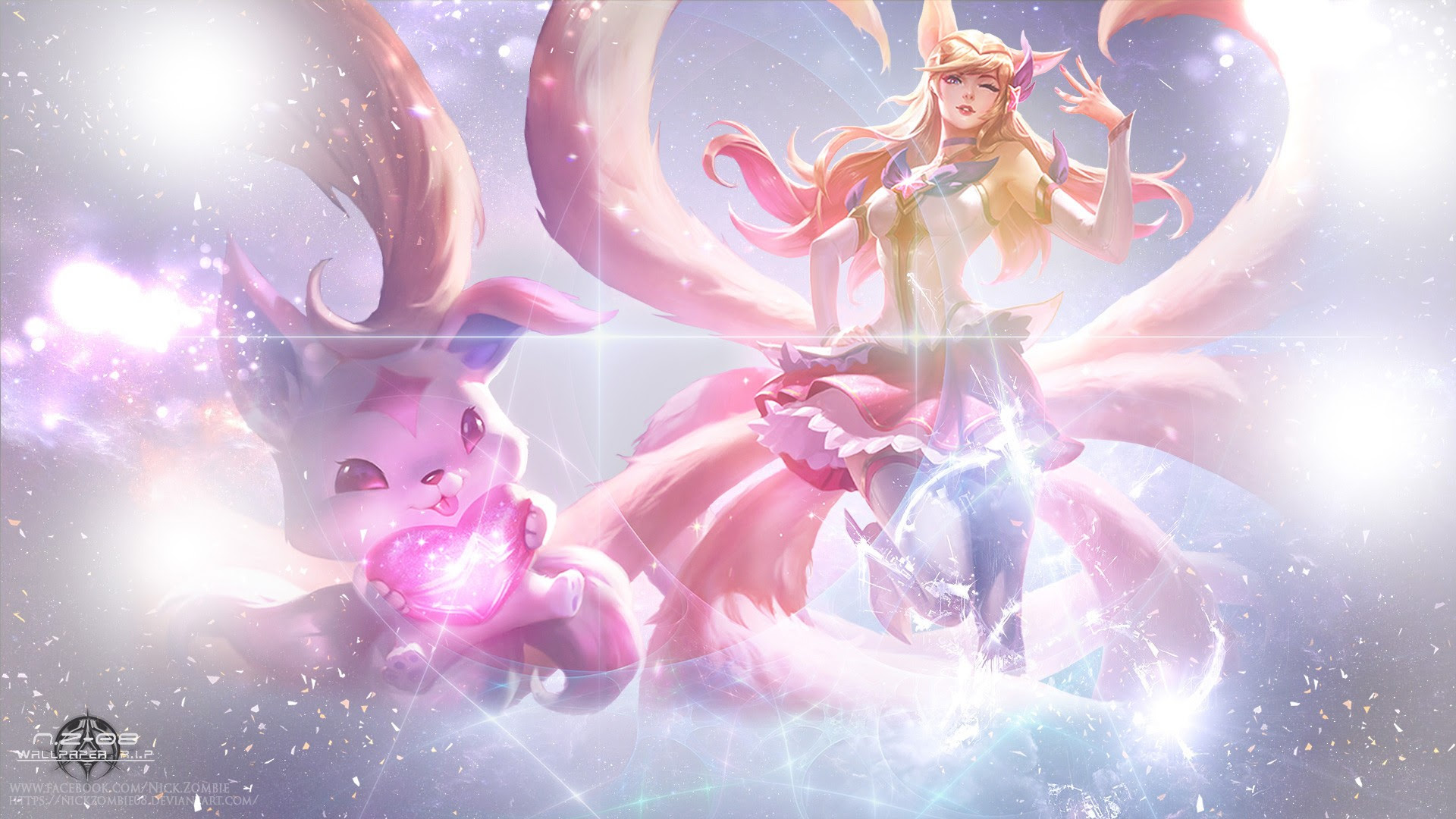 Star Guardian Ahri Wallpapers Fan Arts League Of Legends