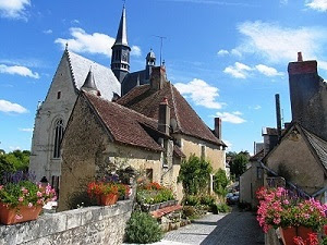 The beautiful Loire Valley village of Montresor