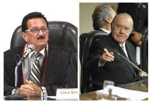Sarney ameaça Cutrim por estar liberando prefeitos para Flávio Dino