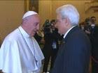 Papa pede resposta global à migração no Mediterrâneo