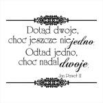 164 Stempel napis - tekst Ślubny