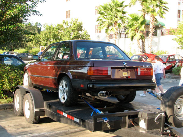 our Challenge newcomers is Dennis Mater, who brought this 1984 BMW 318is