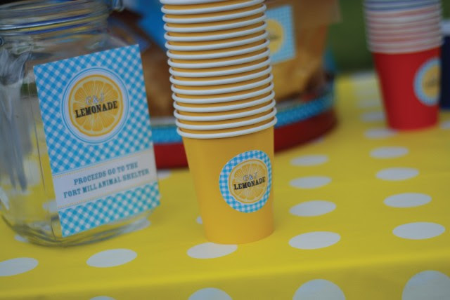 Lemonade Stand Free Printable Designs