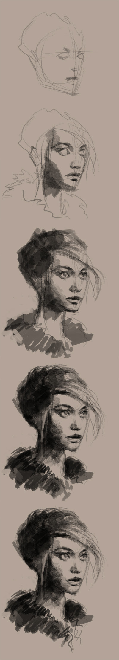 learn how to draw portrait