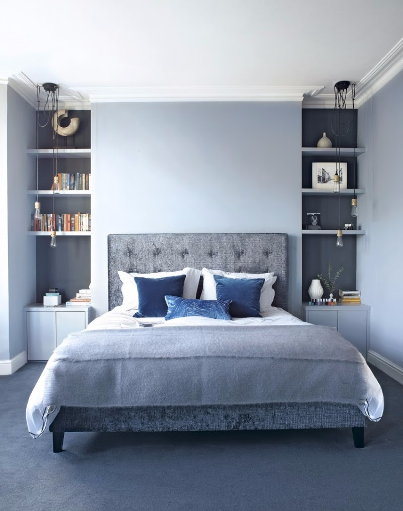 10 Soothing Blue Bedroom Designs – Master Bedroom Ideas