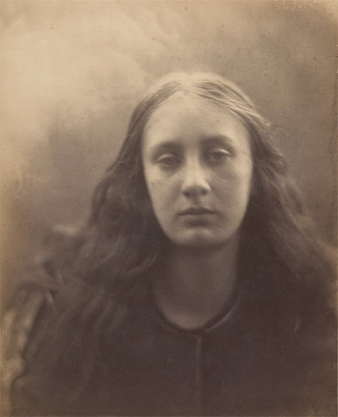 Julia Margaret Cameron,  Christabel, 1866