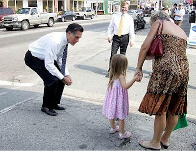 Romney campaigning (cropped)