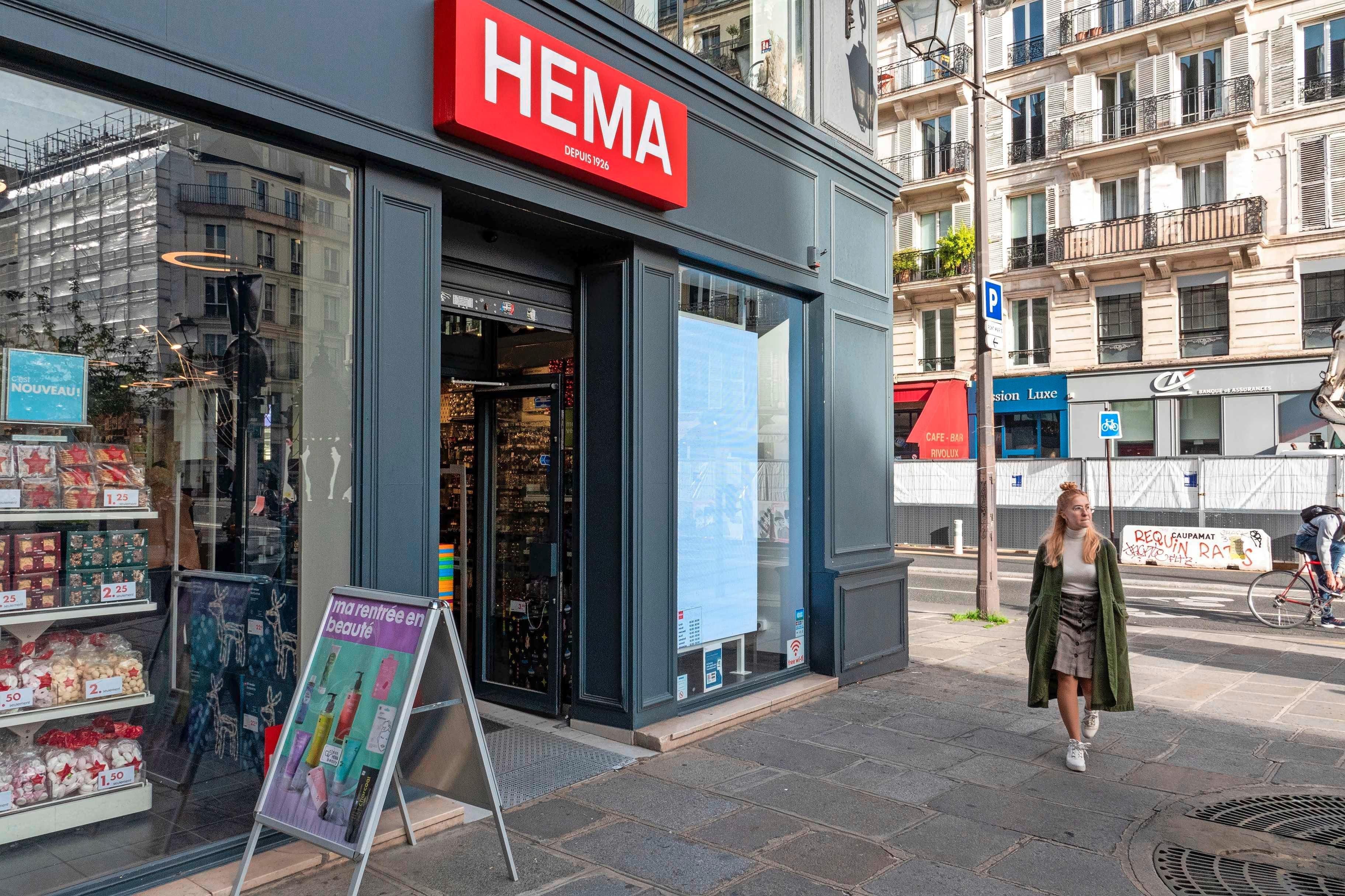 Hema trekt zich terug: 'Geen wereldmerk, maar een retailer'