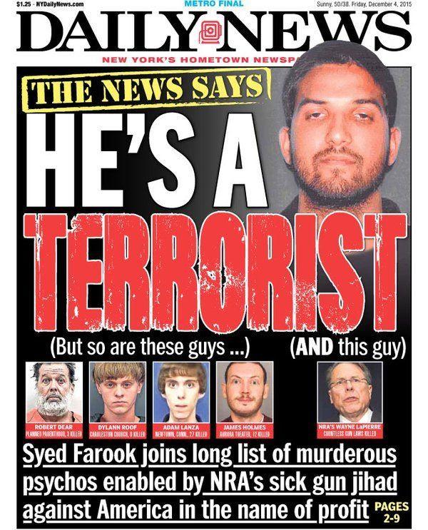 Hate Rhetoric: New York Daily News Labels NRA's LaPierre ...