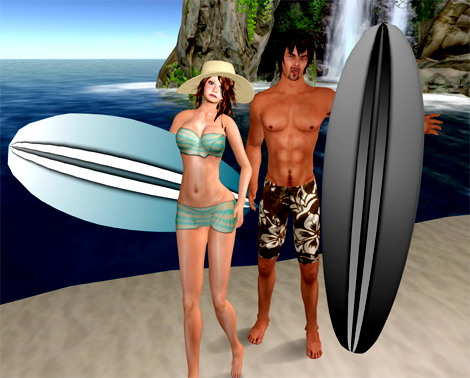 NEW! Adorkable Surfers