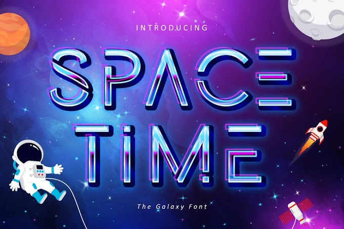 Space Time Font