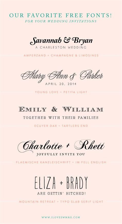 25  best ideas about Invitation Fonts on Pinterest
