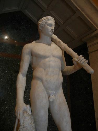 DSCN7356 _ The Lansdowne Herakles, Roman, c. A.D. 125, Getty Villa, July 2013