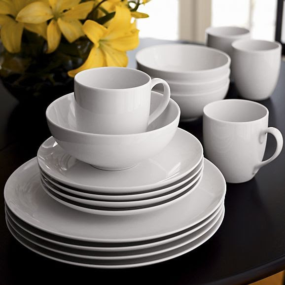 Essential Dinnerware - traditional - dinnerware - - by Crate&Barrel