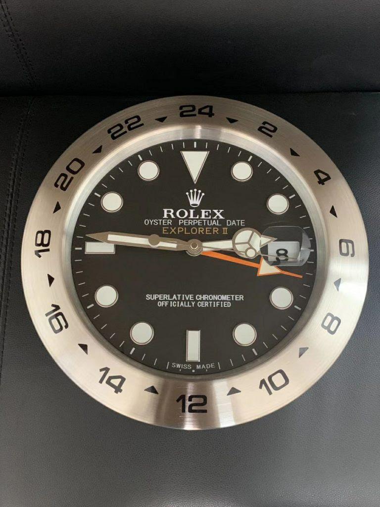 Rolex Explorer II Wall Clock