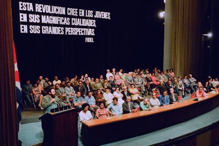 """Resultado de imagen para Fidel Castro y el Destacamento Pedagógico Manuel Ascunce Domenech"""""""