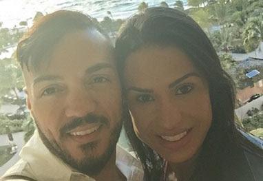Belo e Gracyanne Barbosa chegam às Bahamas para férias - Reprodução/Instagram