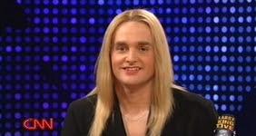 "Will Forte as Jennifer Finney Boylan on ""Saturday Night Live."""