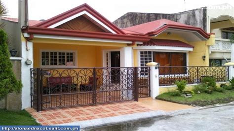 bungalow house plans philippines design small  bedroom