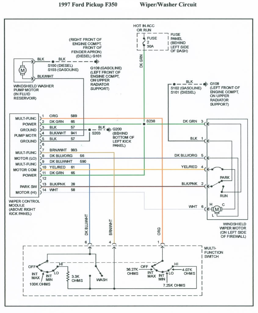 1997 Ford F 250 Factory Radio Wiring Harness 1999 Ford E250 Fuse Diagram For Wiring Diagram Schematics