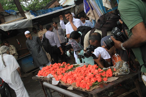 Flowers For The Media From Bandra by firoze shakir photographerno1