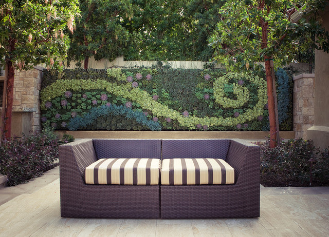 Outdoor Living Wall - contemporary - patio - los angeles - by