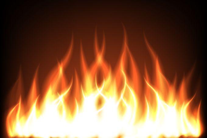 炎の無料イラスト Eps ベクター Jpg 画像 無料イラストフレーム Be