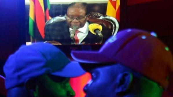 Mugabe envia un mensaje por tv
