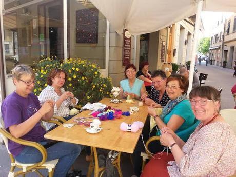 Knit Cafe'...a Castelfiorentino la mascotte