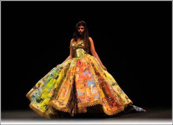 Ты читаешь вечернее платье: наряд Райана Новеллайна из старых детских книжек