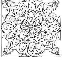 Coloriages Coloriage En Ligne Mandala Frhellokidscom