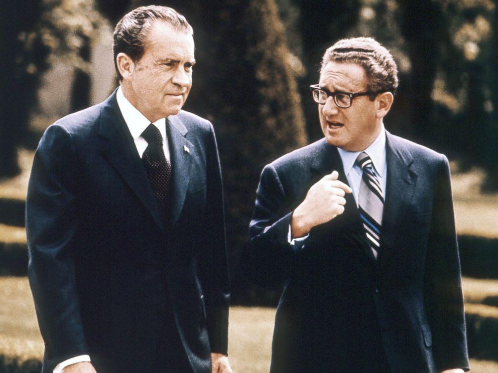 Αποτέλεσμα εικόνας για meeting Trump with Henry Kissinger