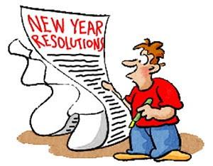 01 Jan 01 - New Years Resolutions